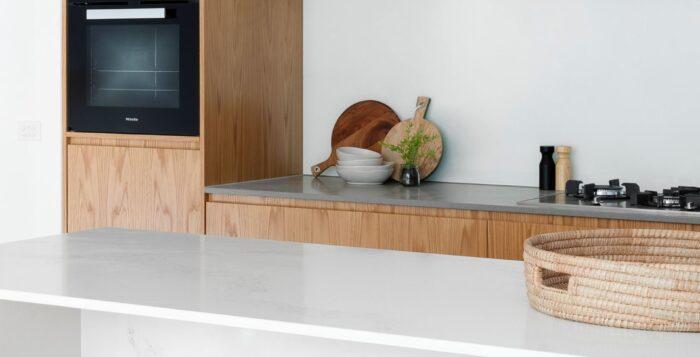 bucătărie în stil minimalist