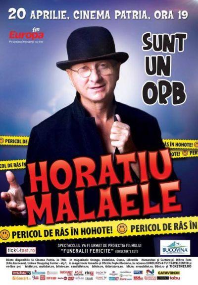 Poster_HoratiuMalaele20aprilie