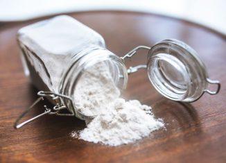 bicarbonat de sodiu in borcan de sticla