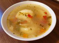 bol cu supa de galusti